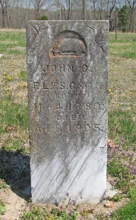 STOKES, JOHN C. - Benton County, Arkansas | JOHN C. STOKES - Arkansas Gravestone Photos