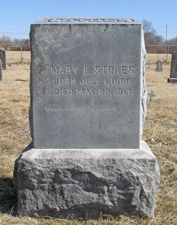 STOKES, MARY E - Benton County, Arkansas | MARY E STOKES - Arkansas Gravestone Photos