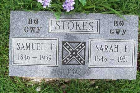 DUNAGIN STOKES, SARAH ELIZABETH - Benton County, Arkansas | SARAH ELIZABETH DUNAGIN STOKES - Arkansas Gravestone Photos