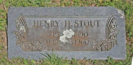 STOUT, HENRY H - Benton County, Arkansas | HENRY H STOUT - Arkansas Gravestone Photos