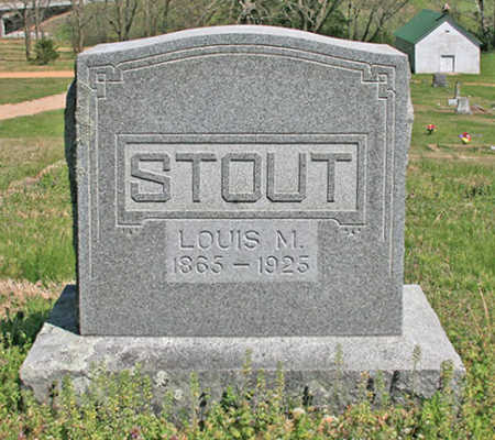 STOUT, LOUIS MAUKER - Benton County, Arkansas | LOUIS MAUKER STOUT - Arkansas Gravestone Photos