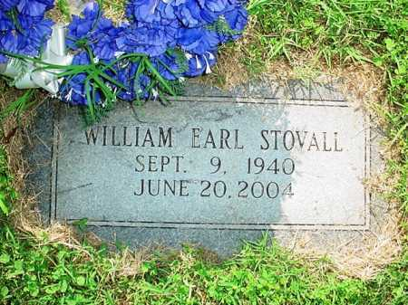 STOVALL, WILLIAM EARL - Benton County, Arkansas | WILLIAM EARL STOVALL - Arkansas Gravestone Photos