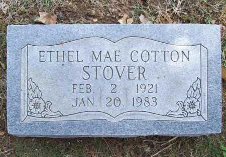 COTTON STOVER, ETHEL MAE - Benton County, Arkansas | ETHEL MAE COTTON STOVER - Arkansas Gravestone Photos