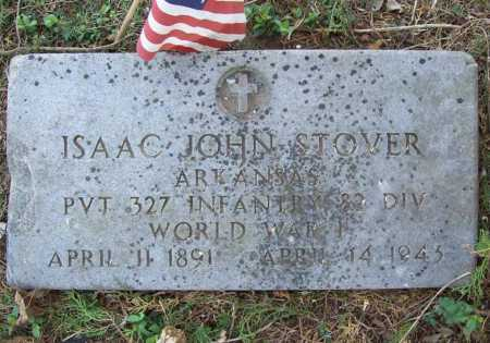 STOVER (VETERAN WWI), ISAAC JOHN - Benton County, Arkansas | ISAAC JOHN STOVER (VETERAN WWI) - Arkansas Gravestone Photos