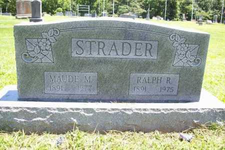 STRADER, MAUDE M. - Benton County, Arkansas | MAUDE M. STRADER - Arkansas Gravestone Photos