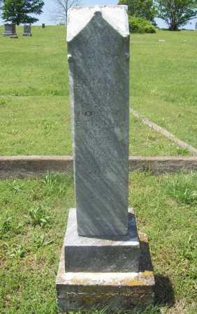STRAIN, SARAH E. - Benton County, Arkansas | SARAH E. STRAIN - Arkansas Gravestone Photos
