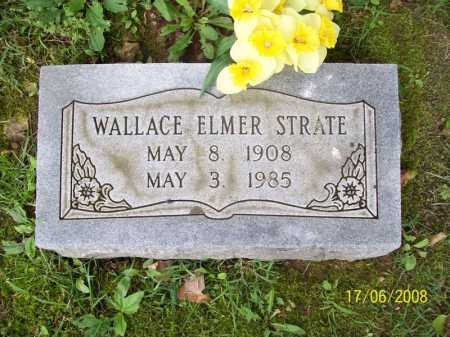 STRATE, WALLACE ELMER - Benton County, Arkansas   WALLACE ELMER STRATE - Arkansas Gravestone Photos