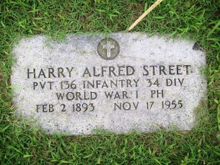 STREET (VETERAN WWI), HARRY ALFRED - Benton County, Arkansas | HARRY ALFRED STREET (VETERAN WWI) - Arkansas Gravestone Photos