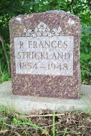 STRICKLAND, R. FRANCES - Benton County, Arkansas | R. FRANCES STRICKLAND - Arkansas Gravestone Photos