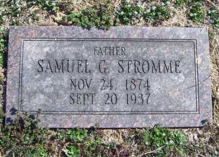 STROMME, SAMUEL G. - Benton County, Arkansas | SAMUEL G. STROMME - Arkansas Gravestone Photos