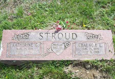 STROUD, CHAUNCIE L. - Benton County, Arkansas | CHAUNCIE L. STROUD - Arkansas Gravestone Photos
