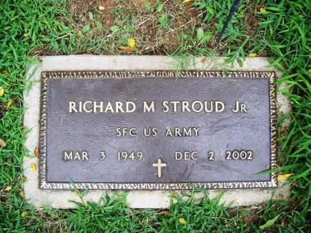 STROUD, JR (VETERAN), RICHARD M - Benton County, Arkansas | RICHARD M STROUD, JR (VETERAN) - Arkansas Gravestone Photos