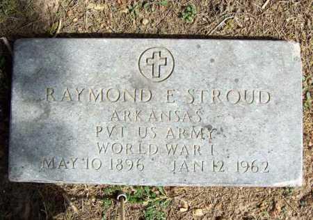 STROUD (VETERAN WWI), RAYMOND E - Benton County, Arkansas | RAYMOND E STROUD (VETERAN WWI) - Arkansas Gravestone Photos
