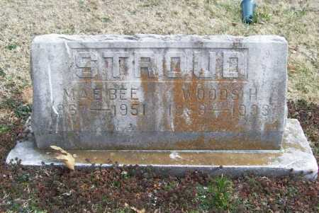 STROUD, WOODS H. - Benton County, Arkansas | WOODS H. STROUD - Arkansas Gravestone Photos