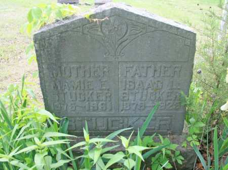 STUCKER, ISAAC L. - Benton County, Arkansas | ISAAC L. STUCKER - Arkansas Gravestone Photos