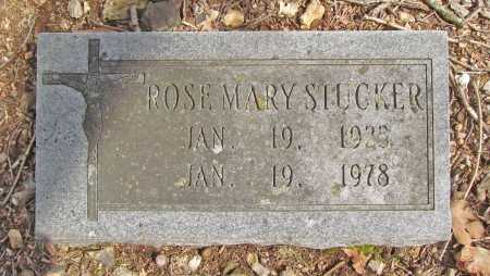 STUCKER, ROSE MARY - Benton County, Arkansas | ROSE MARY STUCKER - Arkansas Gravestone Photos