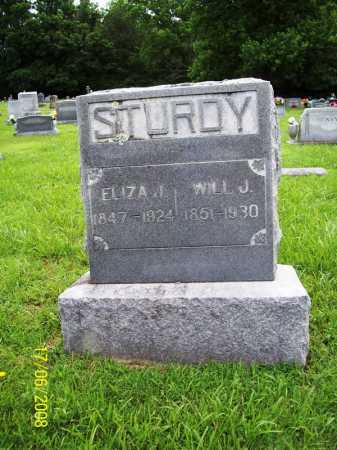 STURDY, WILL J. - Benton County, Arkansas | WILL J. STURDY - Arkansas Gravestone Photos