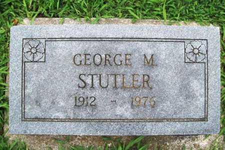 STUTLER, GEORGE M. - Benton County, Arkansas | GEORGE M. STUTLER - Arkansas Gravestone Photos