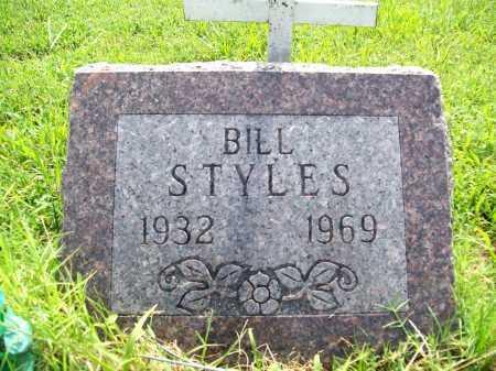STYLES, BILL - Benton County, Arkansas | BILL STYLES - Arkansas Gravestone Photos