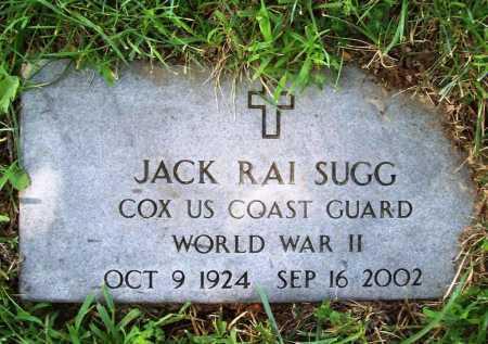 SUGG (VETERAN WWII), JACK RAI - Benton County, Arkansas | JACK RAI SUGG (VETERAN WWII) - Arkansas Gravestone Photos