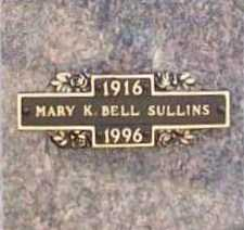 SULLINS, MARY K. - Benton County, Arkansas | MARY K. SULLINS - Arkansas Gravestone Photos