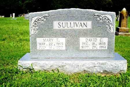 SULLIVAN, MARY F. - Benton County, Arkansas | MARY F. SULLIVAN - Arkansas Gravestone Photos