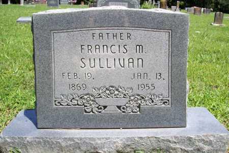 SULLIVAN, FRANCIS M. - Benton County, Arkansas | FRANCIS M. SULLIVAN - Arkansas Gravestone Photos