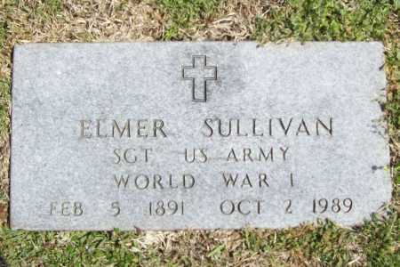 SULLIVAN (VETERAN WWI), ELMER - Benton County, Arkansas | ELMER SULLIVAN (VETERAN WWI) - Arkansas Gravestone Photos