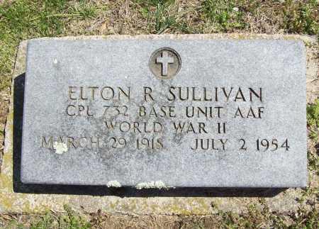 SULLIVAN (VETERAN WWII), ELTON R - Benton County, Arkansas | ELTON R SULLIVAN (VETERAN WWII) - Arkansas Gravestone Photos