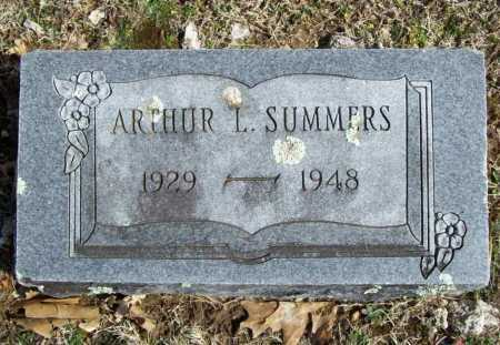 SUMMERS, ARTHUR L. - Benton County, Arkansas | ARTHUR L. SUMMERS - Arkansas Gravestone Photos