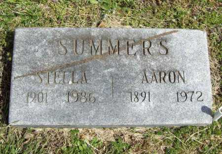 SUMMERS, AARON C. - Benton County, Arkansas | AARON C. SUMMERS - Arkansas Gravestone Photos
