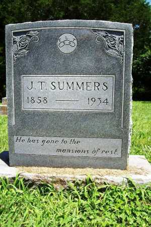 SUMMERS, J. T. - Benton County, Arkansas | J. T. SUMMERS - Arkansas Gravestone Photos