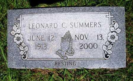 SUMMERS, LEONARD C. - Benton County, Arkansas | LEONARD C. SUMMERS - Arkansas Gravestone Photos