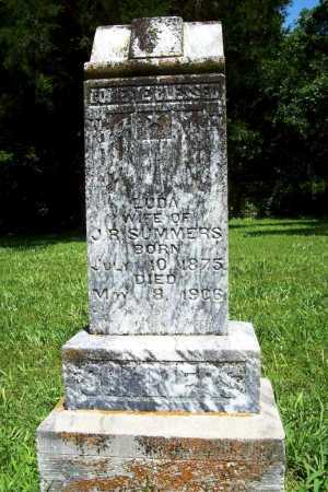 SUMMERS, LUDA - Benton County, Arkansas | LUDA SUMMERS - Arkansas Gravestone Photos