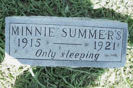 SUMMERS, MINNIE - Benton County, Arkansas | MINNIE SUMMERS - Arkansas Gravestone Photos