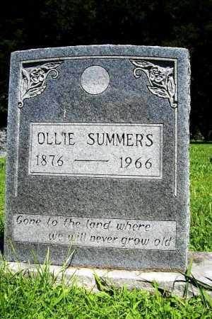 SUMMERS, OLLIE - Benton County, Arkansas | OLLIE SUMMERS - Arkansas Gravestone Photos