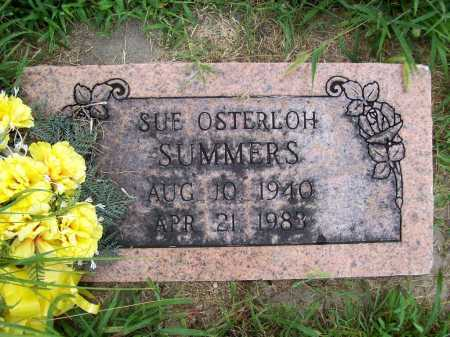 OSTERLOH SUMMERS, SUE - Benton County, Arkansas | SUE OSTERLOH SUMMERS - Arkansas Gravestone Photos