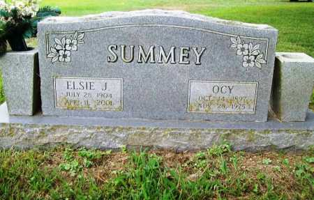 SUMMEY, ELSIE - Benton County, Arkansas | ELSIE SUMMEY - Arkansas Gravestone Photos