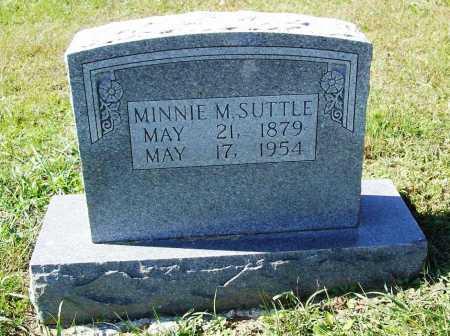 SUTTLE, MINNIE M. - Benton County, Arkansas | MINNIE M. SUTTLE - Arkansas Gravestone Photos