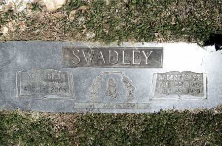 SWADLEY, ALBERT C. - Benton County, Arkansas | ALBERT C. SWADLEY - Arkansas Gravestone Photos