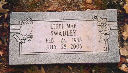 CRITES SWADLEY, ETHEL MAE - Benton County, Arkansas | ETHEL MAE CRITES SWADLEY - Arkansas Gravestone Photos
