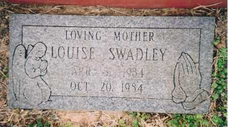 SWADLEY, LOUISE - Benton County, Arkansas | LOUISE SWADLEY - Arkansas Gravestone Photos