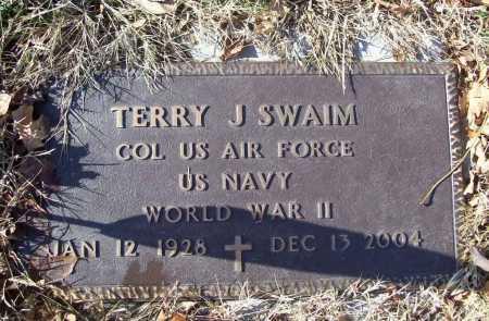 SWAIM (VETERAN WWII), TERRY JEAN - Benton County, Arkansas | TERRY JEAN SWAIM (VETERAN WWII) - Arkansas Gravestone Photos