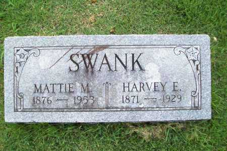 SWANK, HARVEY E. - Benton County, Arkansas | HARVEY E. SWANK - Arkansas Gravestone Photos