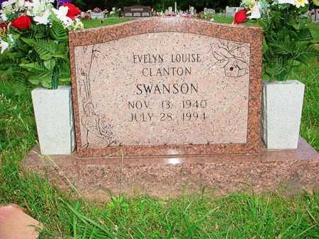 SWANSON, EVELYN LOUISE - Benton County, Arkansas | EVELYN LOUISE SWANSON - Arkansas Gravestone Photos