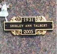 TALBERT, SHIRLEY ANN - Benton County, Arkansas | SHIRLEY ANN TALBERT - Arkansas Gravestone Photos
