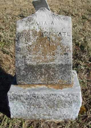TATE, ADA A. - Benton County, Arkansas | ADA A. TATE - Arkansas Gravestone Photos
