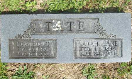 TATE, SARAH JANE - Benton County, Arkansas | SARAH JANE TATE - Arkansas Gravestone Photos