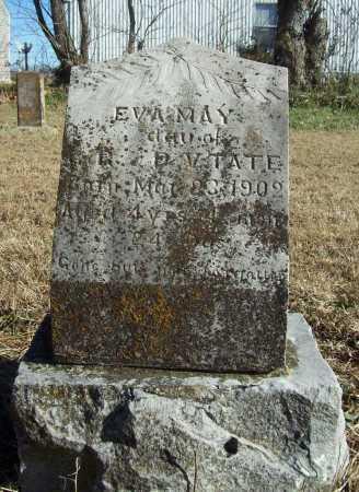 TATE, EVA MAY - Benton County, Arkansas | EVA MAY TATE - Arkansas Gravestone Photos