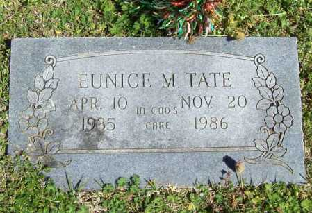 TATE, EUNICE M. - Benton County, Arkansas | EUNICE M. TATE - Arkansas Gravestone Photos